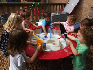 The Children in the Shoe provides high quality child care and early